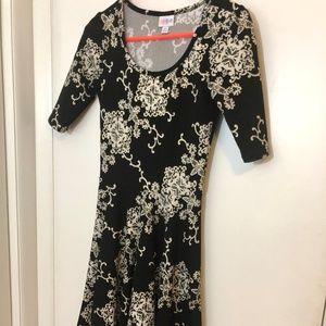 XS Elegant LuLaRoe Nicole Dress